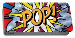 Pop Art Portable Battery Charger