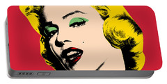 Pop Art Portable Battery Charger by Mark Ashkenazi