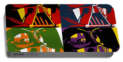 Pop Art Vader Portable Battery Charger by Dale Loos Jr