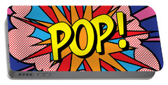 Pop Exclamation Portable Battery Charger