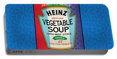 Pop Vegetable Soup Portable Battery Charger