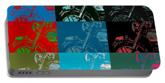 Popart Motorbike Portable Battery Charger