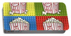 Popcorn Pop Art-jp2375 Portable Battery Charger