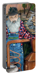 Popcorn Sutton - Bootlegger - Still Portable Battery Charger
