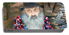 Popcorn Sutton - Moonshine Legend - Landscape View Portable Battery Charger