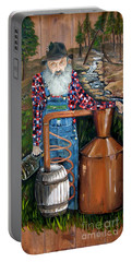 Popcorn Sutton - Moonshiner - Redneck Portable Battery Charger