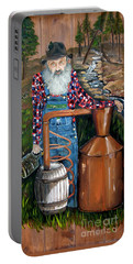 Popcorn Sutton - Moonshiner - Redneck Portable Battery Charger