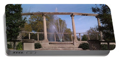 Popp Fountain New Orleans City Park Portable Battery Charger