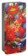 Poppies Gone Wild Portable Battery Charger