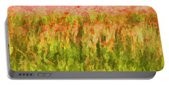 Poppies Of Tuscany IIi Portable Battery Charger