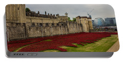 Poppies Tower Of London Portable Battery Charger