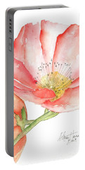 Poppy Bloom Portable Battery Charger