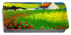 Poppy Field - Ireland Portable Battery Charger