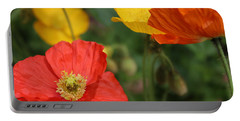 Poppy Iv Portable Battery Charger by Tiffany Erdman