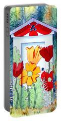 Poppy Potty Portable Battery Charger by Teresa Ascone