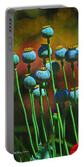Poppy Seed Pods Portable Battery Charger