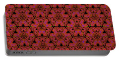 Poppy Sierpinski Triangle Fractal Portable Battery Charger