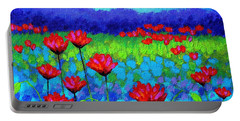 Poppy Study Portable Battery Charger