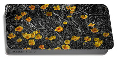 Portable Battery Charger featuring the photograph Poppyflies by Mark Myhaver
