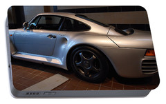 Portable Battery Charger featuring the photograph Porsche 1987 959 by John Schneider