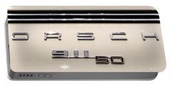 Porsche 50th Anniversary Rear Badge Portable Battery Charger