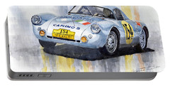 Porsche 550 Coupe 154 Carrera Panamericana 1953 Portable Battery Charger