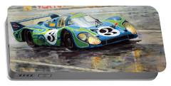 Porsche Psychedelic 917lh  1970  Le Mans 24  Portable Battery Charger