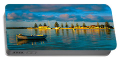 Port Albert Bay Portable Battery Charger by James  Dierker