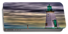 Portable Battery Charger featuring the photograph Port Dalhousie Lighthouse by Jerry Fornarotto