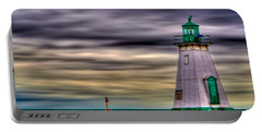 Port Dalhousie Lighthouse Portable Battery Charger by Jerry Fornarotto