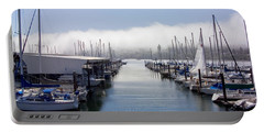 Portable Battery Charger featuring the photograph Port Kingston Marina by Greg Reed