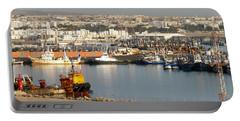 Port Of Agadir Morocco 1 Portable Battery Charger