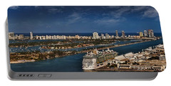 Port Of Miami Panoramic Portable Battery Charger
