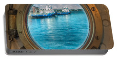 Hmcs Haida Porthole  Portable Battery Charger
