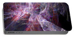 Portable Battery Charger featuring the digital art Portal by Margie Chapman