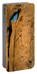 Portal Through Stone Portable Battery Charger by Jeff Kolker