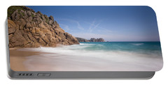 Porthcurno Beach Portable Battery Charger