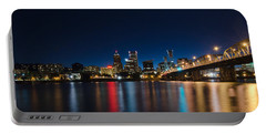 Portland Oregon Nightscape Portable Battery Charger