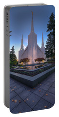 Portland Temple Portable Battery Charger