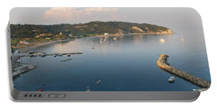 Portable Battery Charger featuring the photograph Porto Bay by George Katechis