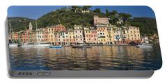 Portable Battery Charger featuring the photograph Portofino by Antonio Scarpi
