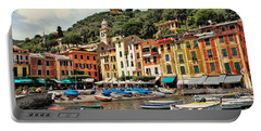 Portofino Harbor 2 Portable Battery Charger by Allen Beatty