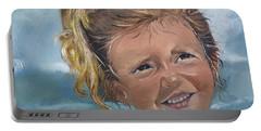 Portrait - Emma - Beach Portable Battery Charger