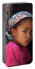 Portrait Of A Berber Girl Portable Battery Charger