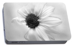 Portable Battery Charger featuring the photograph Portrait Of A Daisy by Louise Kumpf