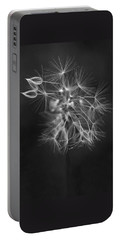 Portable Battery Charger featuring the photograph Portrait Of A Dandelion by Rona Black
