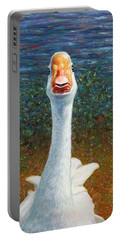Portrait Of A Goose Portable Battery Charger