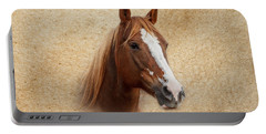 Portrait Of A Mare Print Portable Battery Charger