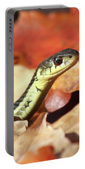 Portable Battery Charger featuring the photograph Portrait Of A Snake by Doris Potter