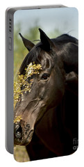 Portrait Of A Thoroughbred Portable Battery Charger